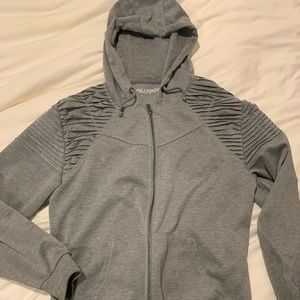 Trillnation Hoodie in grey Sz large EUC like new